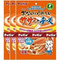 ペティオ (Petio) おなかにうれしいササミチーズ170g×3