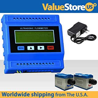 TUF-2000M-TM-1 Ultrasonic Flow Meter Kit with Power Adapter - Flowmeter for Pipe Size from 1.96 to 27 inches (50 to 700 mm).
