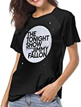 BuddhaGarment The Tonight Show Starring Jimmy Fallon Women's Comfort Baseball T-Shirt