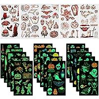 200-Pieces Eoorau Store Halloween Waterproof Temporary Tattoos