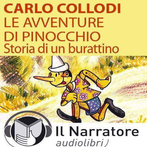 Le avventure di Pinocchio. Storia di un burattino audiobook cover art