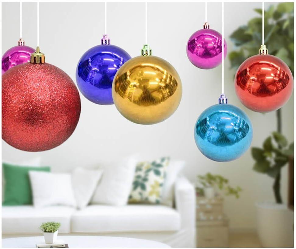 Buy ORYOUGO Christmas Ball Ornaments,Decorative Shatterproof ...