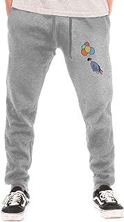 huatongxin Acmiran Eeyore Men's Breathable Casual Cozy Long Pantalón de chándals Workout Pants