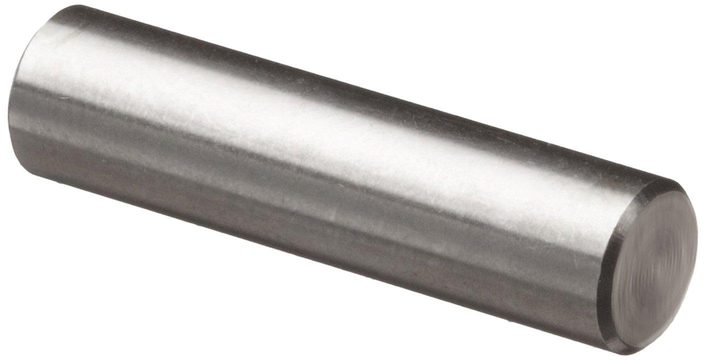 "316 Stainless Steel Dowel Pin, 1/4"" Diameter, 3/4"" Length (Pack of 10)"