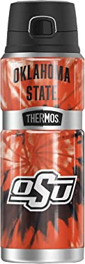 Oklahoma State University Official Tie-Dye THERMOS STAINLESS KING Stainless Steel Drink Bottle, Vacuum insulated & Double
