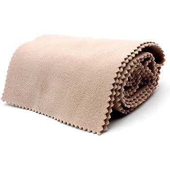 Andoer® - Chiffon de protection en laine douce contre la saleté pour clavier à 88 touches beige