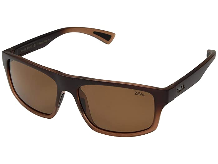 Zeal Optics  Durango (Rye Fade/Polarized Copper Lens) Fashion Sunglasses