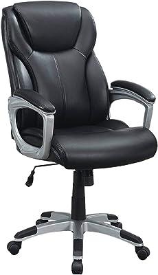 Poundex Invoke Office Chair, Black