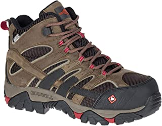 Women'S Moab 2 Vent Mid Waterproof Composite-Toe Work Boot