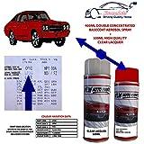 Xtremeauto Car Colour Aerosol Spray Paint - FLASH RED, Paint Code : LP3G, P3G Red