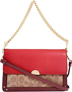 Coach Dreamer Ladies Small Two Tone Leather Crossbody Bag 76134GDP22