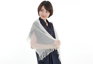 くーる&ほっと 珠絹 セリシン ストール日本製 セリシンそのまま生絹ストール