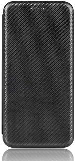 غطاء حماية بتصميم محفظة مصنوع من الياف الكربون Xiaomi Redmi 9C