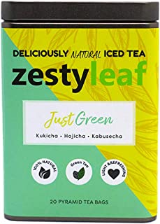 Just Green Japanese Iced Green Tea (Tin)