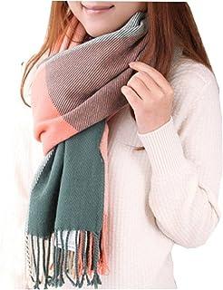 comprar comparacion heekpek Mujeres caliente Mantas Cozy Pashmina bufanda larga tartán enrejado mantón