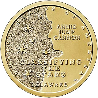 2019 D Position A BU Delaware American Innovation Dollar Classifying the Stars Choice Uncirculated US Mint