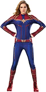 captain marvel cosplay costume