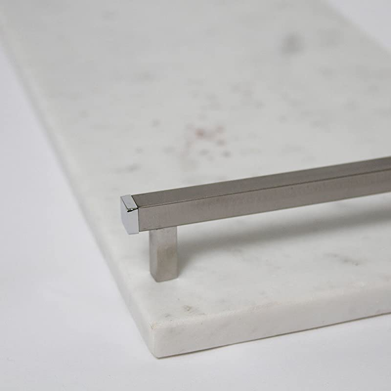 21 White Marble Board With Handles