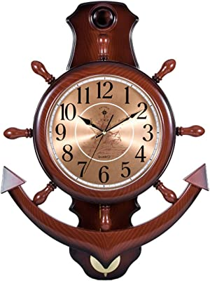 Muzi Trade Wall Clock Wall Clock Clock Clock Quartz Clock European Retro Swing Mute Creative,