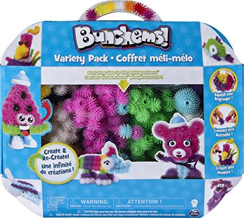 Bunchems Paquete variado, kit de actividades con 440 Bunchems y 20 accesorios, para edades de 4 y más