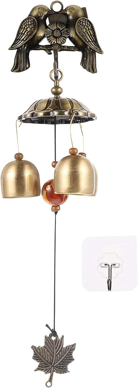 Auralto Brass Tube Wind Chimes Bargain Sculpture Copper M Bird Quality inspection Bell