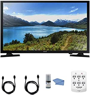 SAMSUNG UN32J4000-32-Inch LED HDTV J4000 Series + Hookup Kit - Includes TV, 6 Outlet Wall Tap Surge Protector, HDMI Cable 6' and Performance TV/LCD Screen Cleaning Kit