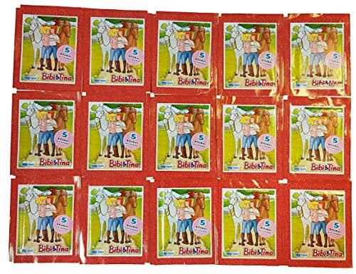 Unbekannt Blue Ocean Bibi & Tina Sticker 15 Tüten - 75 Sticker Bibi und Tina