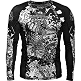 Hardcore Training Koi 2.0 Men's Rash Guard Compression Long Sleeve MMA No-Gi Tight BJJ Grappling Base Layer Fitness