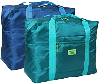 travel blue folding carry bag