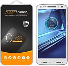 (2 Pack) Supershieldz for Motorola (Droid Turbo 2) Tempered Glass Screen Protector, Anti Scratch, Bubble Free