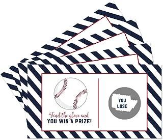 baseball scratch off cards