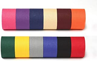 Athletic Tape - 12 Colors - Black Beige Blue Red Navy Orange Purple Pink Gray Gold Green Maroon M-tape