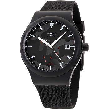 Swatch Originals Automatic Movement Black Dial Unisex Watch SUTA401