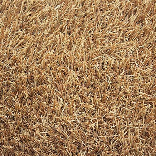 人工芝いつでもGreenレギュラータイプカラー芝丈30mm1×2mカフェラテ《メーカー直送品》JQ2