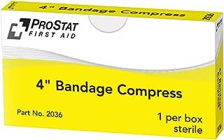ProStat First Aid 2036 Sterile Compress Bandage, 4