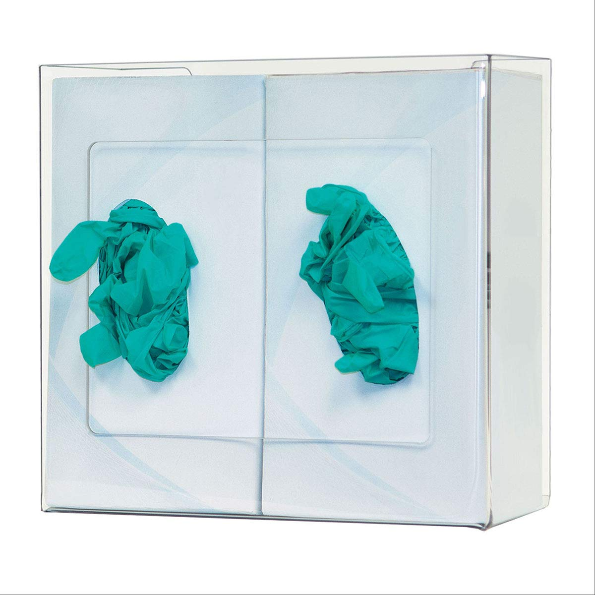 CeilBlue PETG Non-Divided Glove Super beauty product restock New product!! quality top Box Dispenser - Double