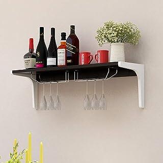 YXZQ étagère de Rangement, étagère Murale étagère de Rangement étagère murée Moderne Simple Casier à vin Peinture étagère ...
