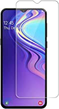 RidivishN® Tempered Glass for Samsung Galaxy M30   Scratch Resistant,Air Bubble Free,Edge to Edge Tempered Glass Guard Screen Protector for Samsung m30 (Transparent)