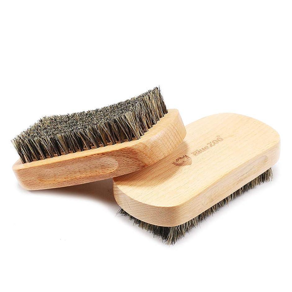 振動させる敬意結果としてHellery シェービングブラシ メンズ 理容 洗顔 髭剃り ひげブラシ 散髪整理 理髪用 首/顔 髭剃り