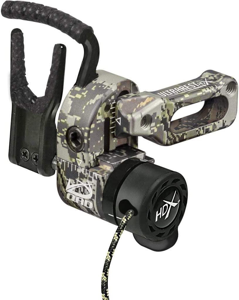 Quality Archery Designs QAD Ultra-Rest Optifade Open HDX Country Recommended free