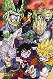 Dragon Ball Z Cell Saga - Manga Anime Poster Plakat Druck-