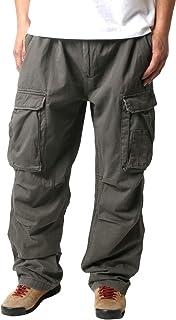 [リアルクラッシュクロージング] カーゴパンツ メンズ 大きいサイズ ズボン イージーパンツ ベルト