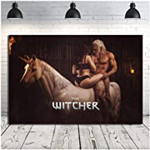 dayanzai Sexy The Witcher Wild Hunt Canvas Posters Prints Wall Art Painting Decorative Picture Home Decoration-60X80Cm No Frame