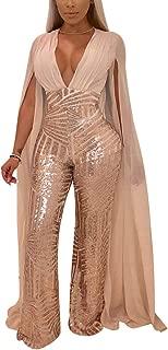 Best rose gold sequin jumpsuit Reviews