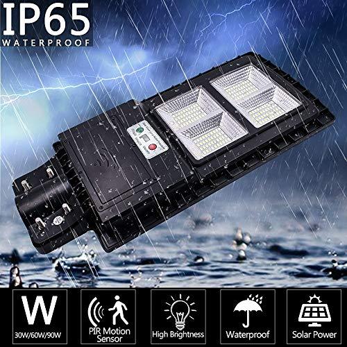 Best Bargain Outdoor Waterproof Light with Control and Radar Sensor Black