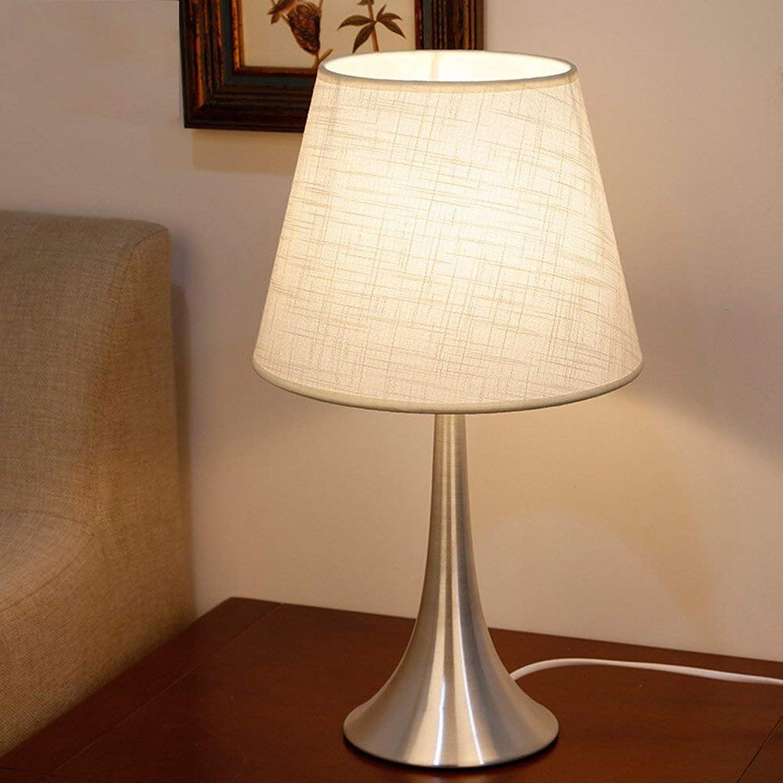 Table Lamp European Home Bedroom Bedside Lamp Modern Minimalist Decorative Garden Table Lamp Beige