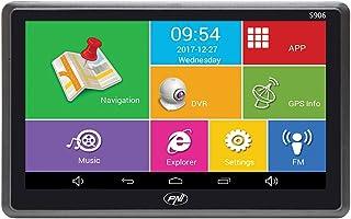 comprar comparacion Sistema de navegación GPS de 7 Pulgadas y Coche DVR Dash CAM Integrado PNI S906, Android 6.0, Mapas Here y Waze preinstalados