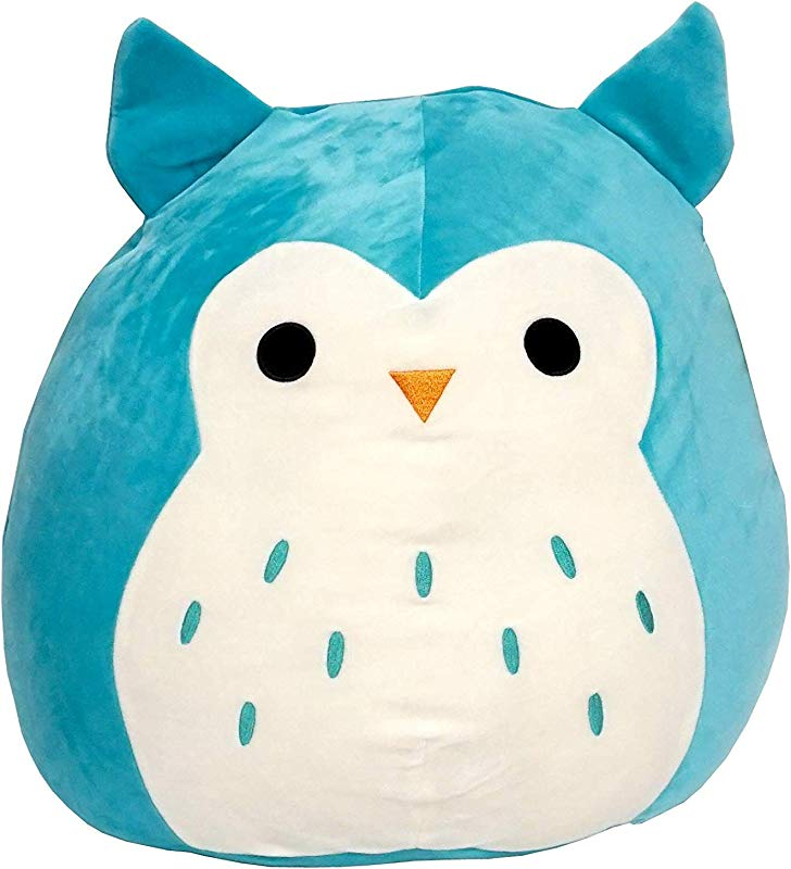 Kellytoy Squishmallow 16 Winston Owl Super Soft Plush Toy Pillow Pet Pal Buddy