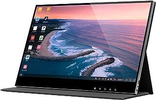 Portable Monitor 4K / 1080P. مراقب المحمولة 15.6 '' FHD HDR IPS 100٪ SRGB شاشة الكمبيوتر المحمول مع HDMI USB-C الشاشة الخا...