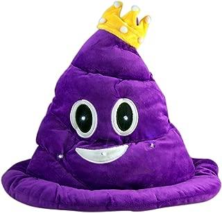 Emoji Light Up Poop Emoji Hat 12 Inch